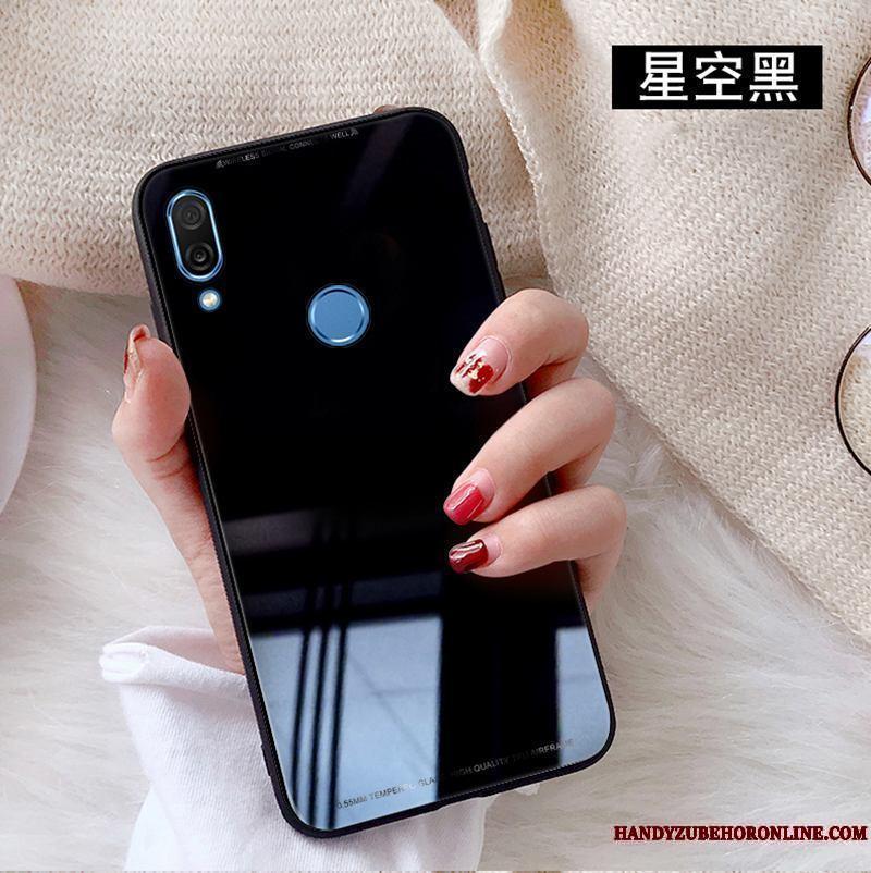 dd2e2079b51 Huawei P20 Lite Rojo Blanco Vidrio Templado Funda Silicona Carcasa  Protector De Pantalla ...