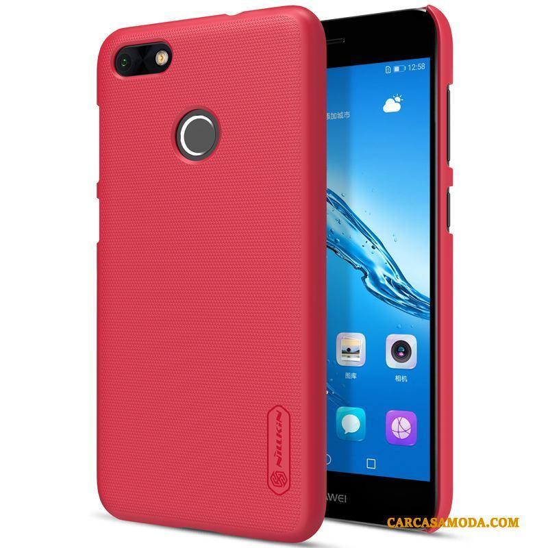 4f8a792a81d Huawei Y6 Pro 2017 Funda Duro Teléfono Móvil Silicona Oro Rojo Carcasa  Barata
