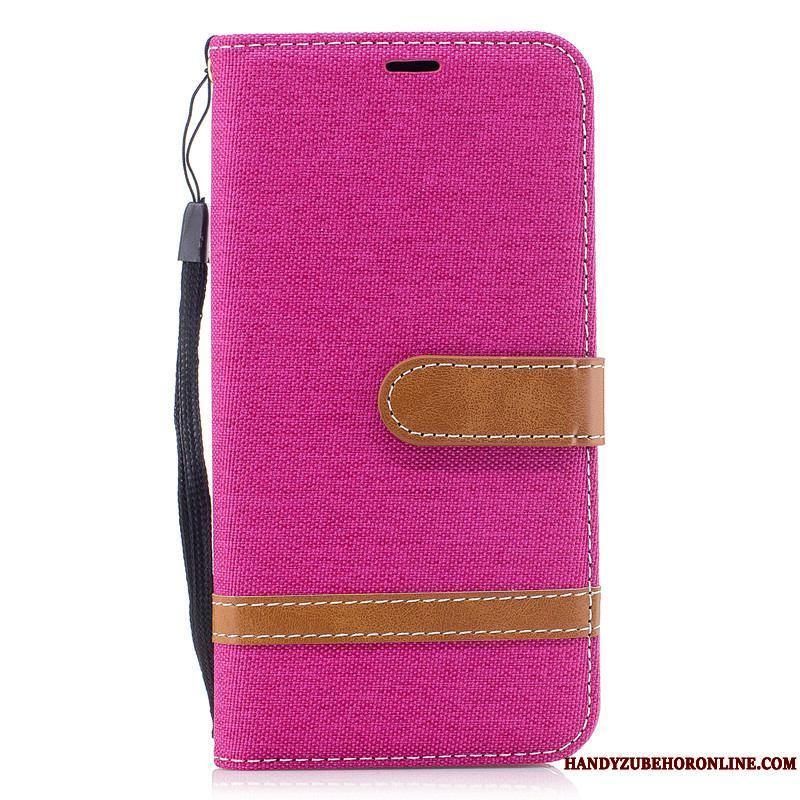 Samsung Galaxy A20s Carcasa Funda Billeteros Silicona Púrpura Estrellas Nuevo
