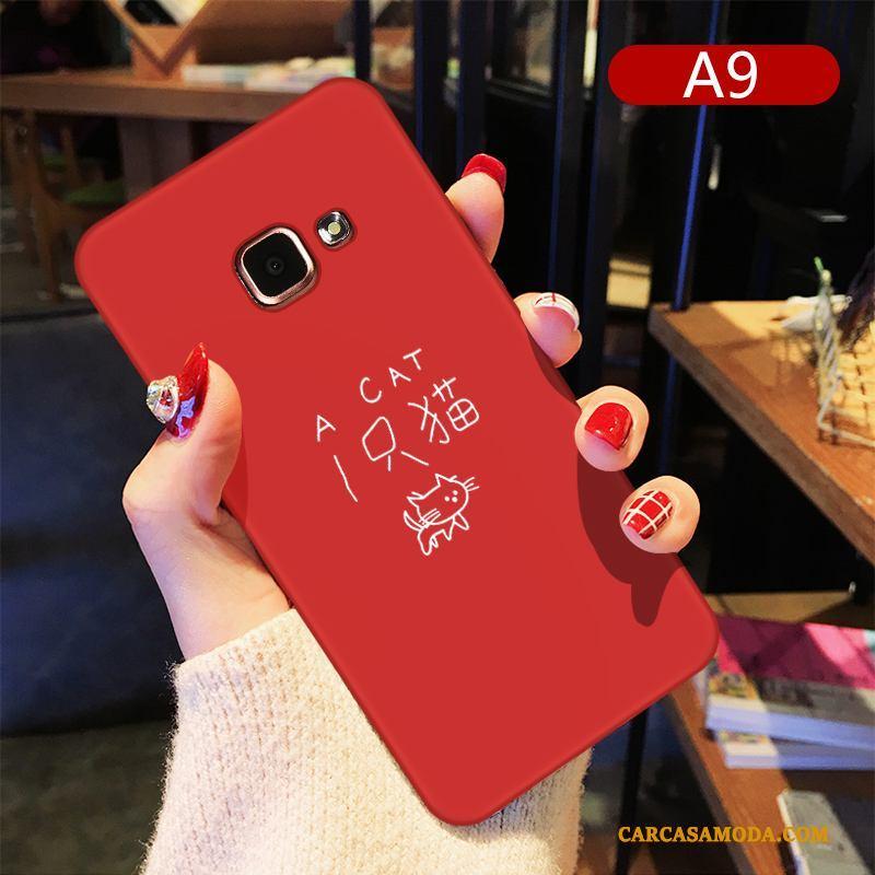 Samsung Galaxy A7 2016 Personalidad Silicona Creativo Funda Silicona Estrellas Dibujos Animados Simple