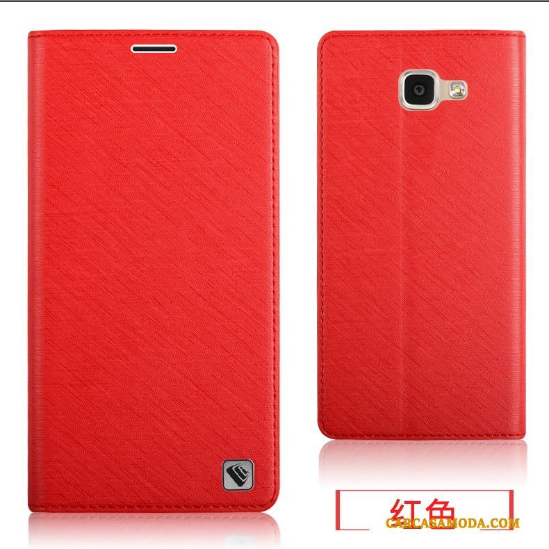 Samsung Galaxy A7 2016 Silicona Suave Funda De Cuero Protección Carcasa Teléfono Móvil Todo Incluido