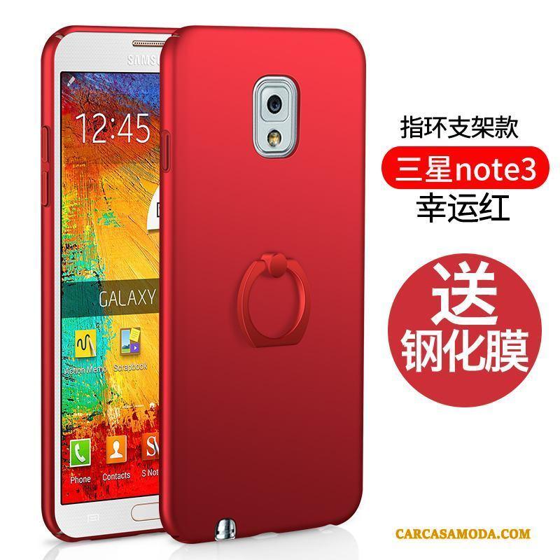 Samsung Galaxy Note 3 Duro Funda Silicona Estrellas Cubierta Trasera Rojo Todo Incluido Carcasa