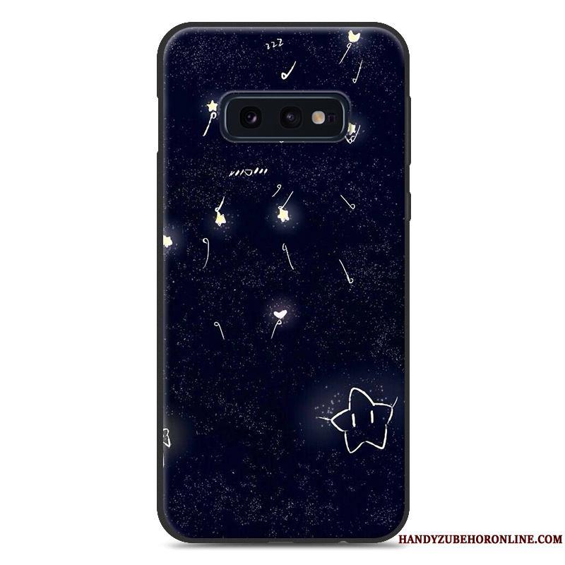 Samsung Galaxy S10e Estrellas Nuevo Dibujos Animados Carcasa Suave Protección Funda Silicona