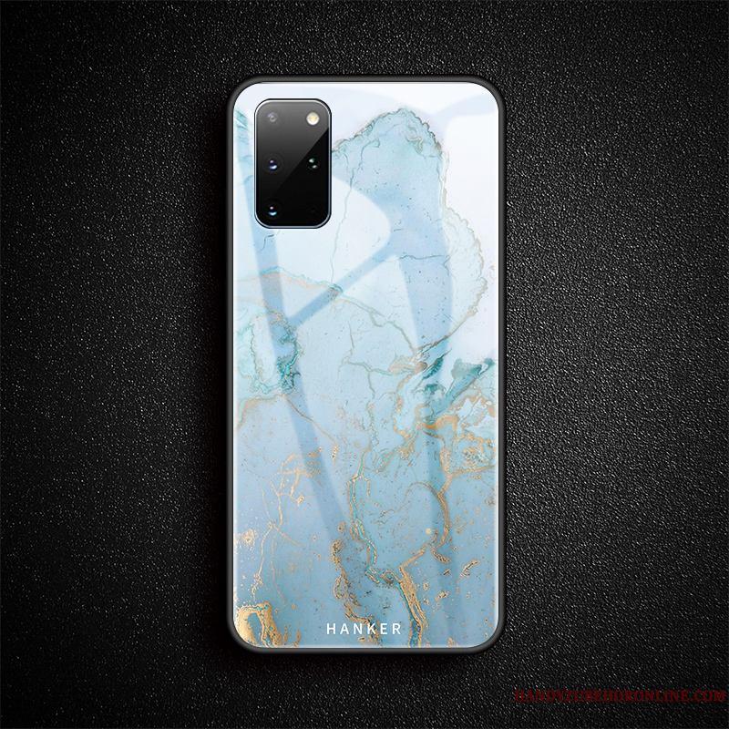 Samsung Galaxy S20+ Vidrio Suave Protección Estrellas Carcasa Funda Silicona Anti-caída