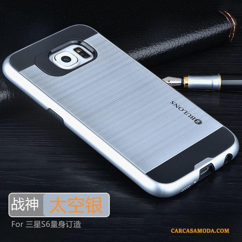 Samsung Galaxy S6 Funda Protección Nuevo Silicona Anti-caída Carcasa Cubierta Trasera Estrellas