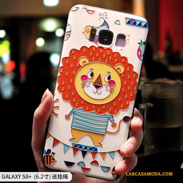 Samsung Galaxy S8+ Carcasa Creativo Estrellas Todo Incluido Suave Pequeñas Funda Silicona