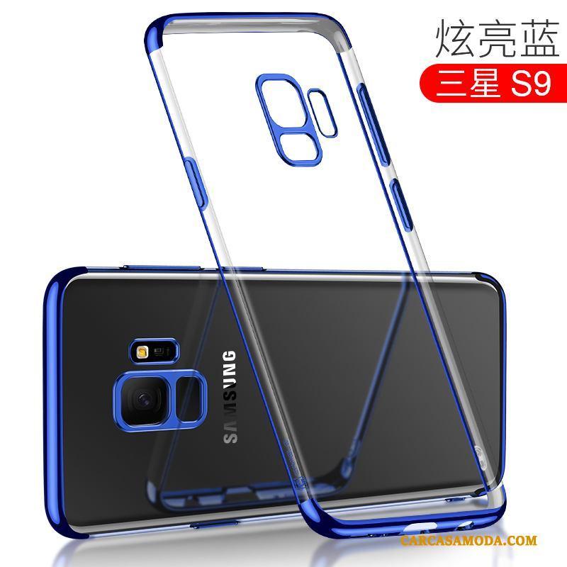 Samsung Galaxy S9 Marca Tendencia Todo Incluido Anti-caída Transparente Estrellas Funda Silicona Slim