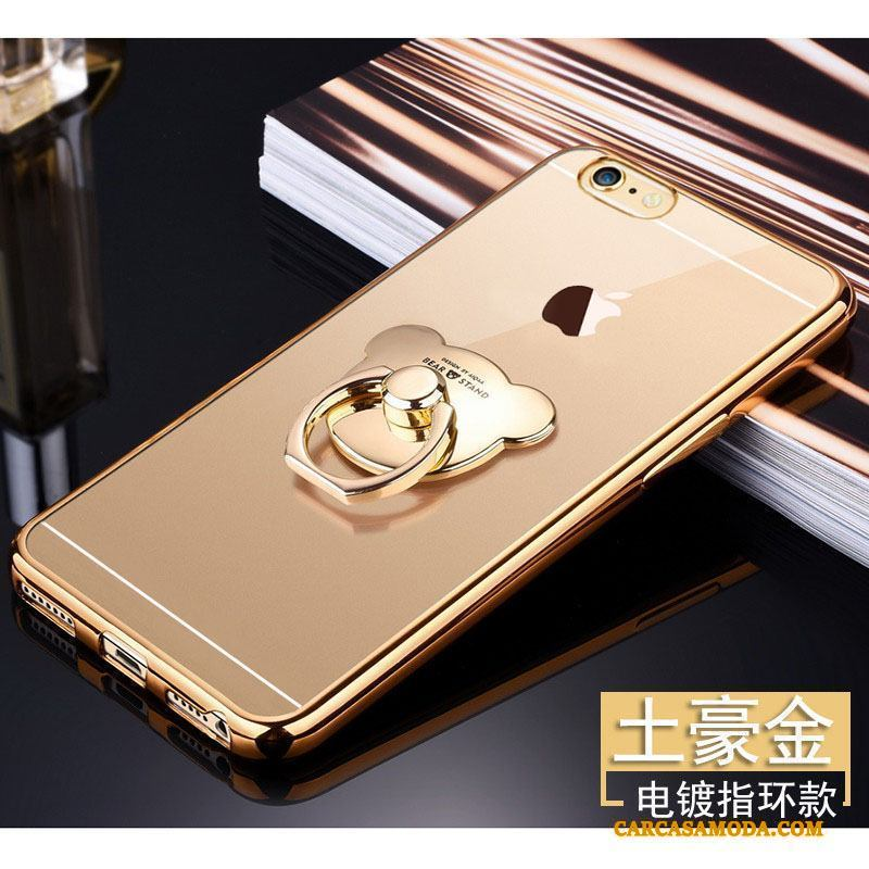 iPhone 5/5s Todo Incluido Carcasa Adornos Colgantes Silicona Funda Silicona Transparente Protección