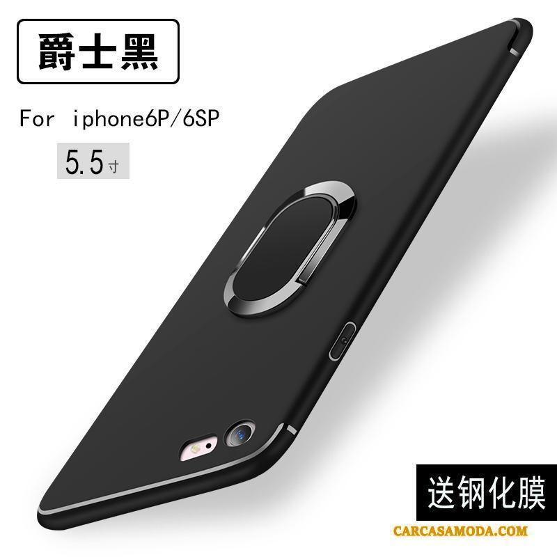 iPhone 6/6s Plus Tendencia Funda Silicona Nuevo Carcasa Anti-caída Negro Slim