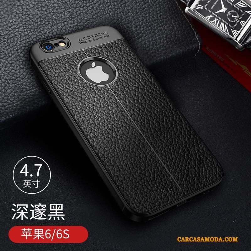 iPhone 6/6s Silicona Funda Suave Carcasa Todo Incluido Elegante Silicona