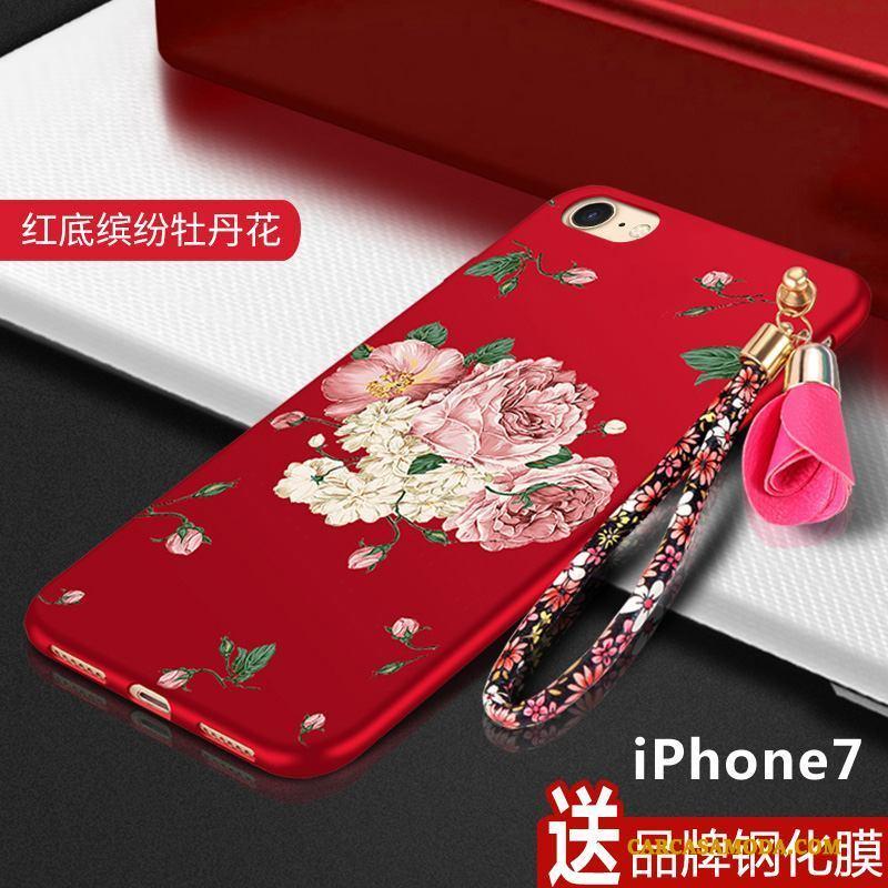 iPhone 7 Creativo Nuevo Anti-caída Carcasa Funda Silicona Personalidad Protección