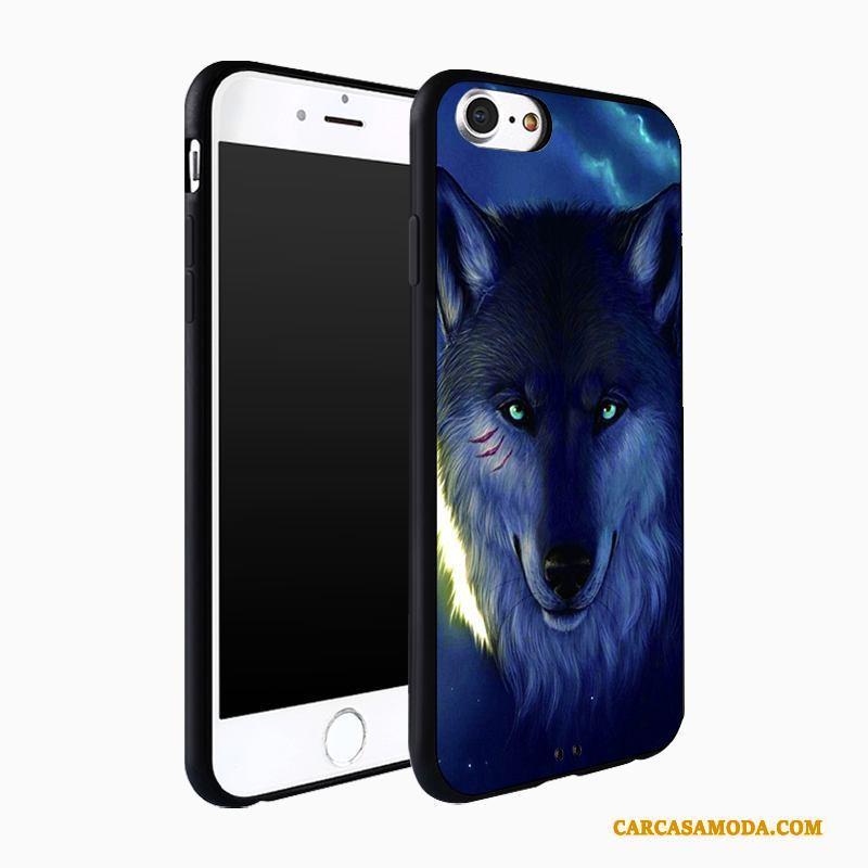 iPhone 7 Plus Carcasa Protección Verde Funda Silicona