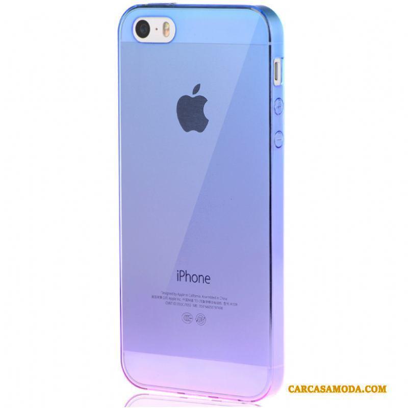39c5574b4d3 Iphone Se Carcasa Creativo Silicona Funda Silicona Simple Transparente  Personalidad Comprar