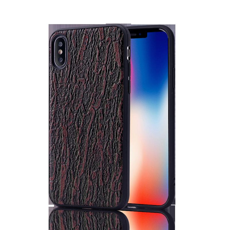 iPhone Xs Max Gama Alta Funda De Cuero Marca Tendencia Moda Silicona Calidad Protección