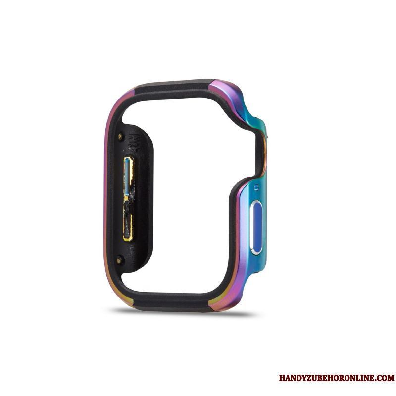 Apple Watch Series 2 Borde Metal Anti-caída Tendencia Protección Funda Suave