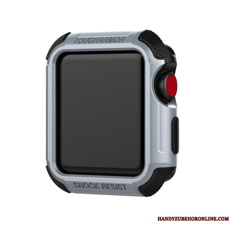 Apple Watch Series 2 Carcasa Protección Funda Gris Silver