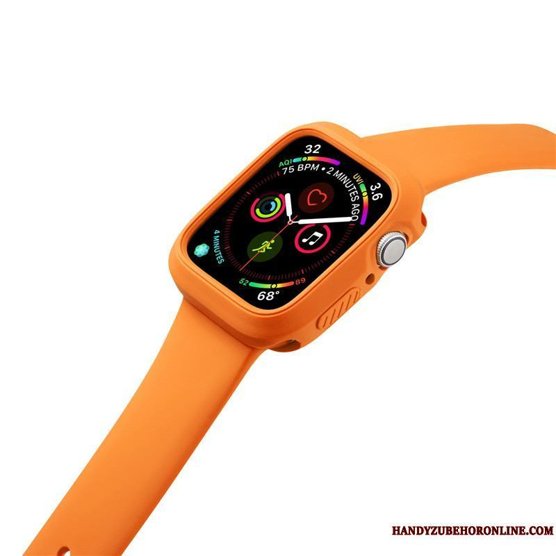 Apple Watch Series 2 Naranja Sport Funda Silicona Anti-caída