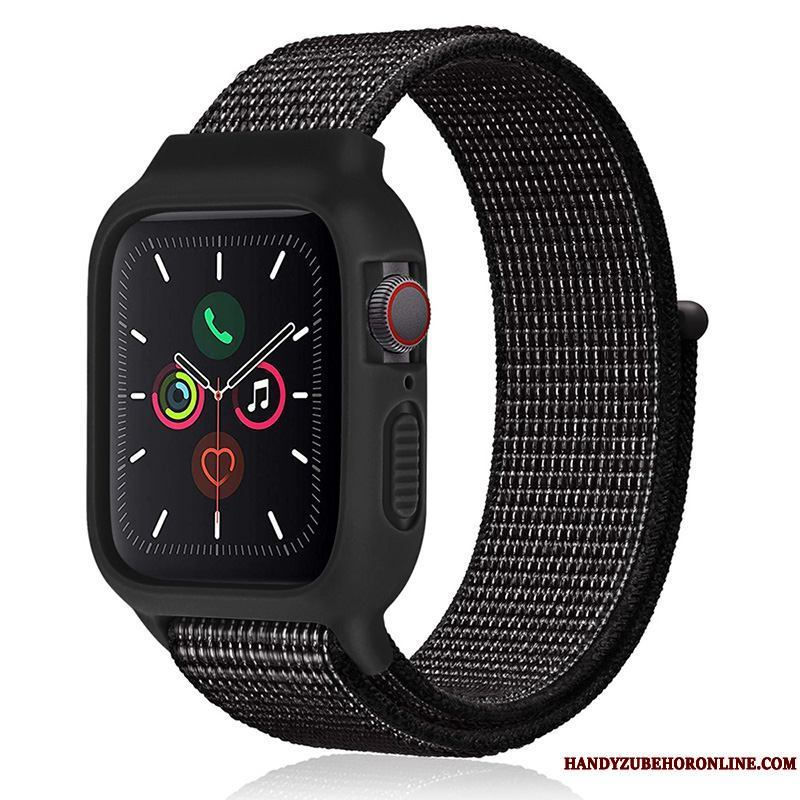Apple Watch Series 2 Negro Sport Tendencia Funda Nylon Nuevo Silicona