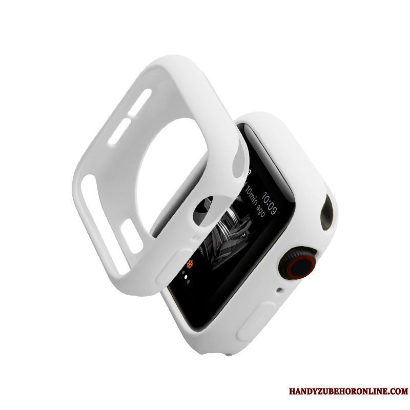 Apple Watch Series 2 Silicona Protección Carcasa Marca Tendencia Slim Funda Blanco