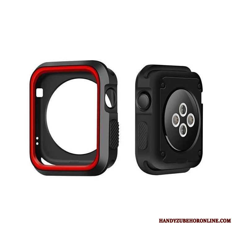 Apple Watch Series 2 Suave Funda Carcasa Negro