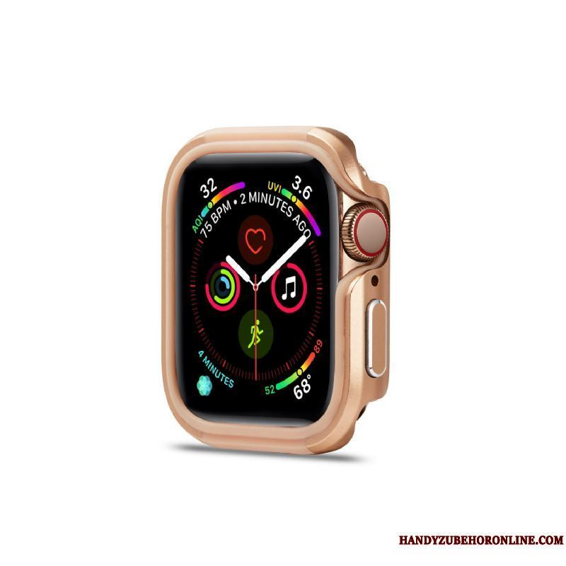 Apple Watch Series 5 Oro Tendencia Anti-caída Nuevo Funda Carcasa Borde