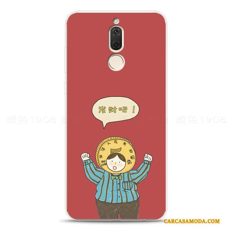6224b3b9f49 Huawei Mate 10 Lite Funda Silicona Suave Simple Carcasa Personalizada Todo  Incluido Rojo ...