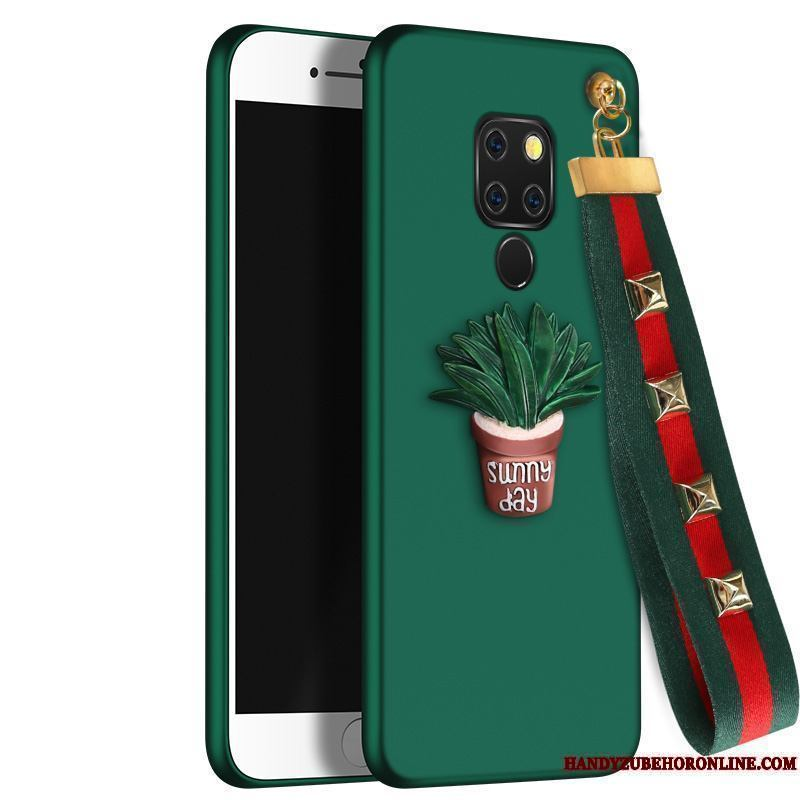 Huawei Mate 20 Funda Todo Incluido Creativo Net Red Relieve Marca Tendencia Silicona Protección