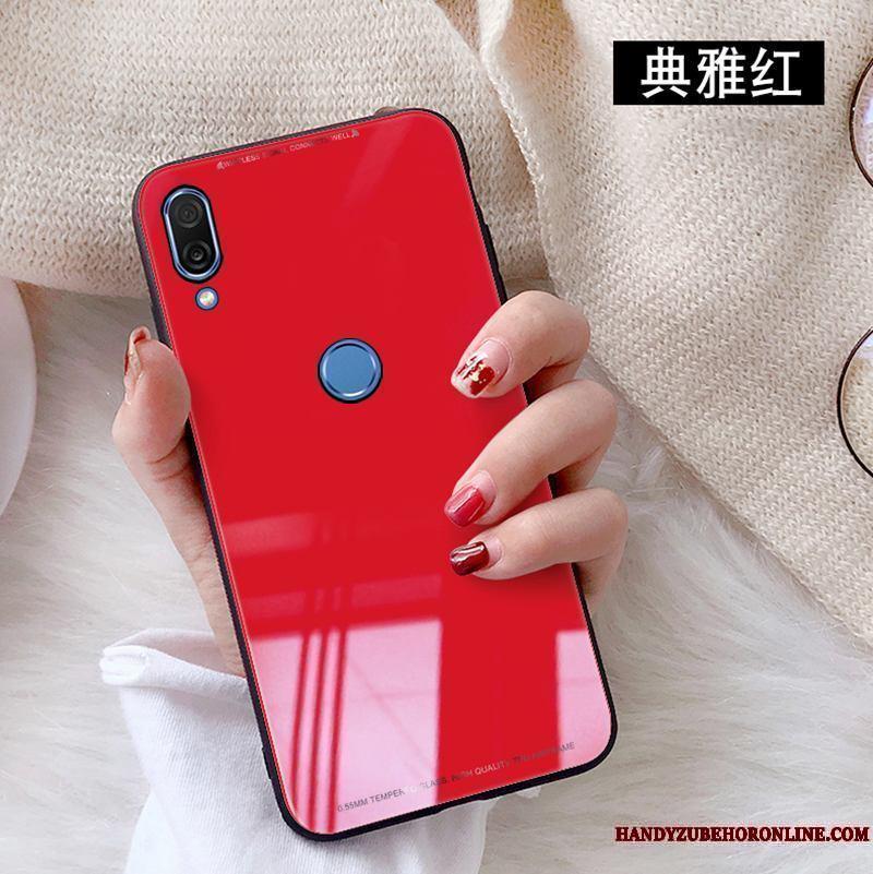 745da85a71f Huawei P20 Lite Rojo Blanco Vidrio Templado Funda Silicona Carcasa  Protector De Pantalla Comprar