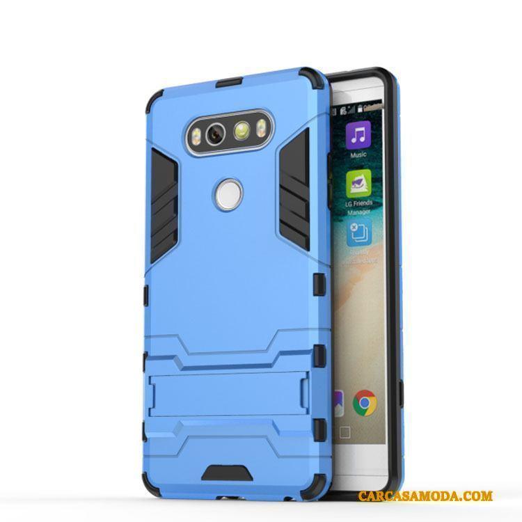 74a049c064e Lg V20 Azul Claro Soporte Funda Carcasa Personalizada Teléfono Móvil  Silicona Baratos