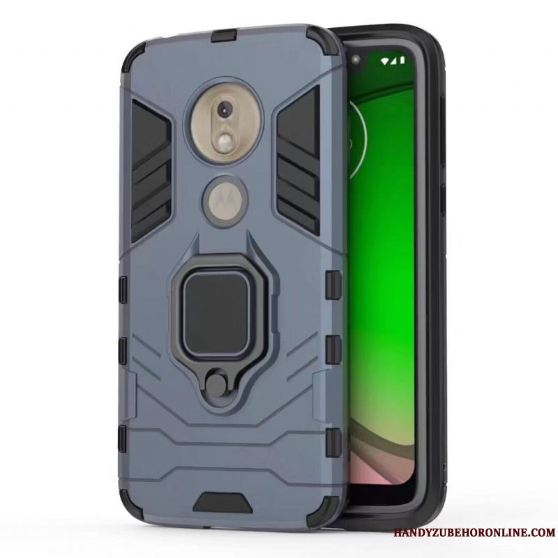 Moto G7 Play Funda Silicona Verde A Bordo