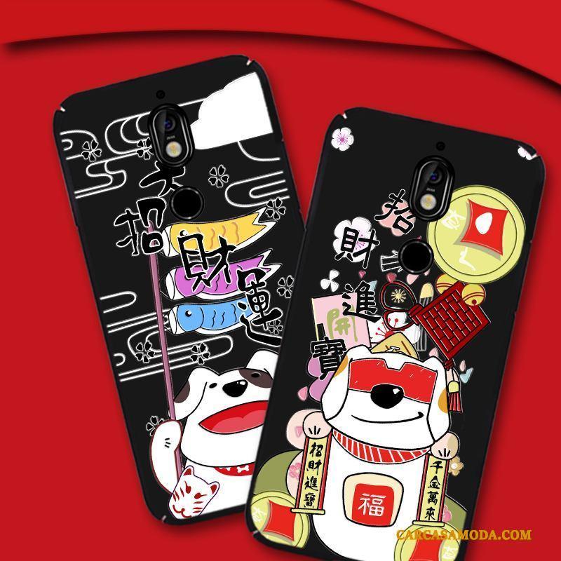 Funda Iphone 7 Dibujos Animados Rojo Adornos Colgantes Carcasa