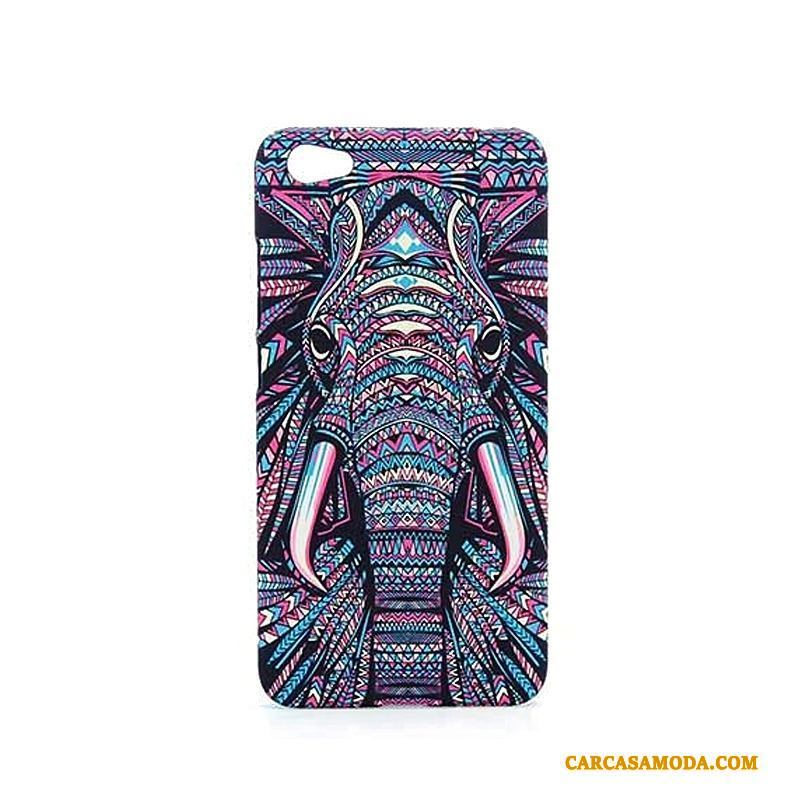 Redmi Note 5a Funda Dibujos Animados Protección Animal Nobuck Carcasa Relieve Brillantes