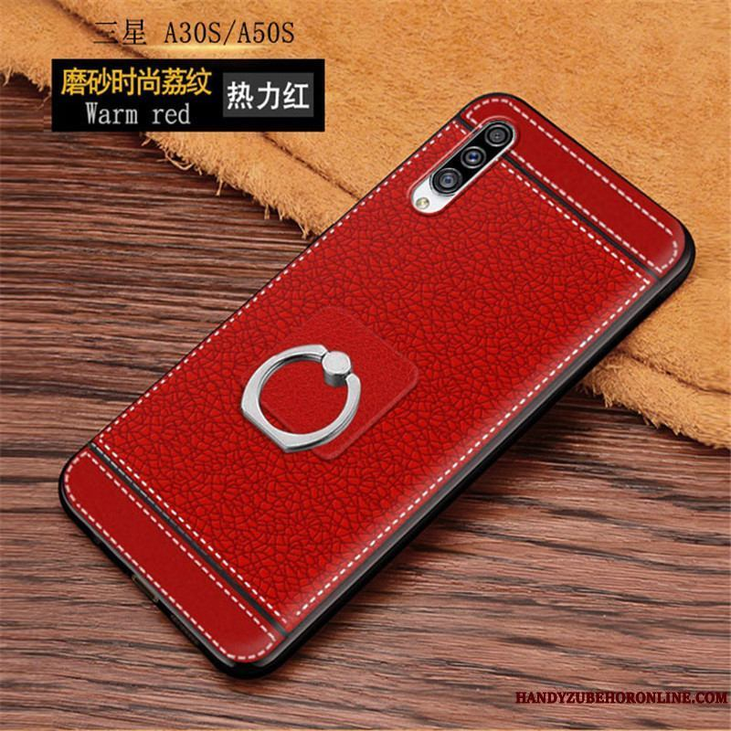 Samsung Galaxy A30s Funda Silicona Moda Net Red Carcasa Nuevo Simple