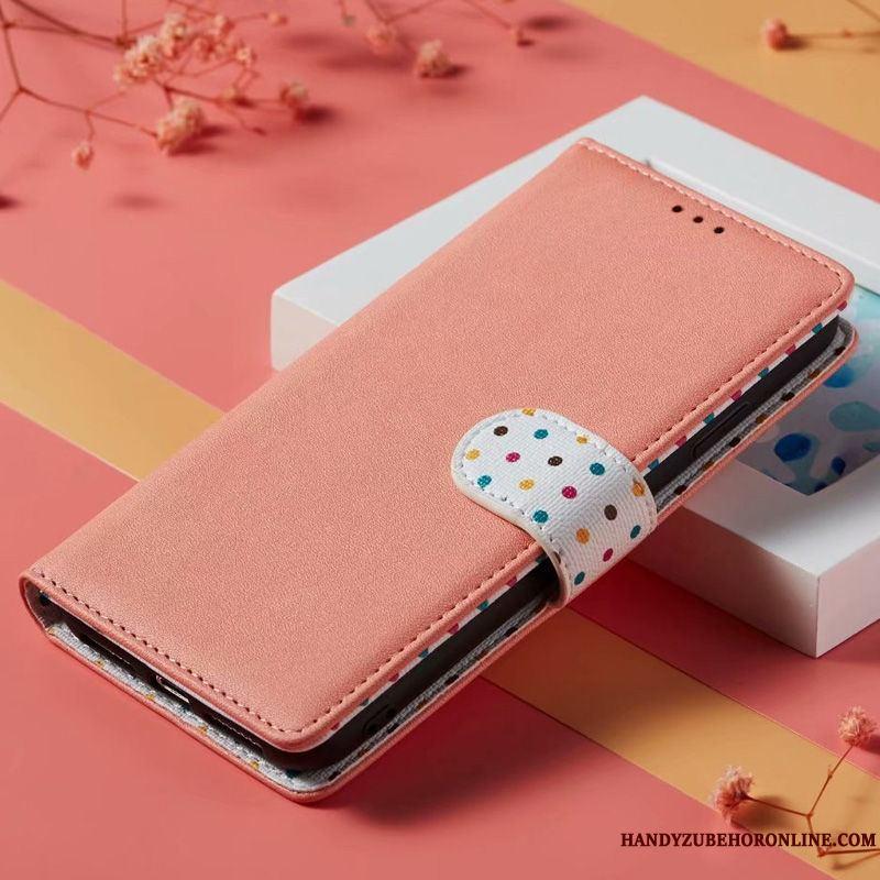 Samsung Galaxy Note 10 Estrellas Funda De Cuero Silicona Folio
