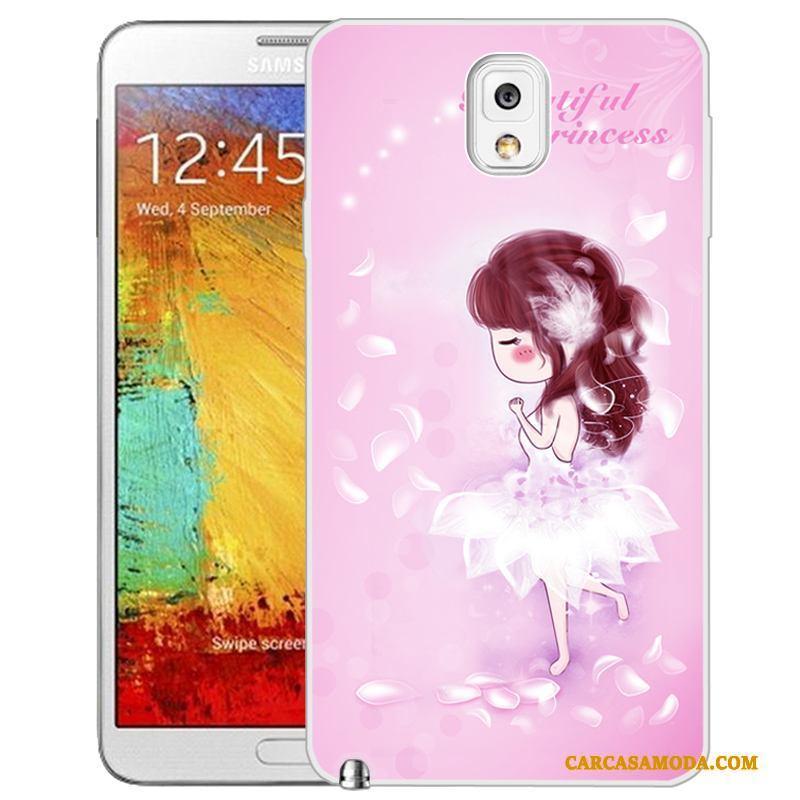 c34b289d466 Samsung Galaxy Note 3 Funda Dibujos Animados Protección Color Claro  Creativo Suave Pintados Carcasa Baratos