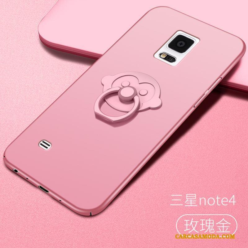 9fc3ece2e4c Samsung Galaxy Note 4 Funda Silicona Todo Incluido Anti-caída Oro Rosa  Nuevo Nobuck Duro