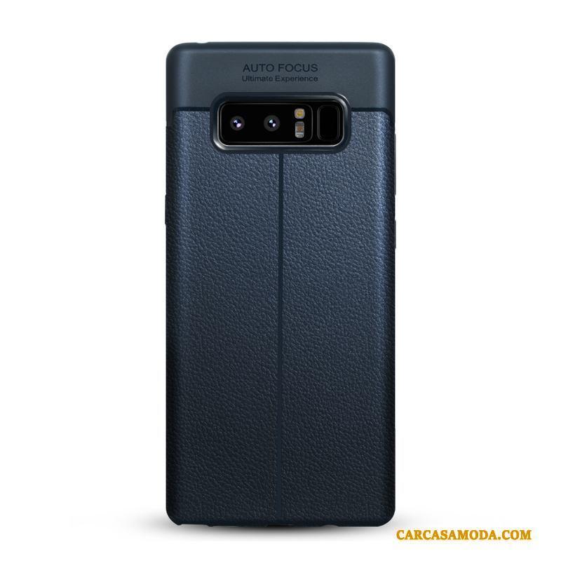 Samsung Galaxy Note 8 Silicona Cuero Funda Silicona Calidad Todo Incluido Anti-caída Protección
