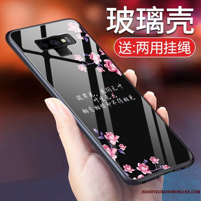 6dcd037f4a1 Samsung Galaxy Note 9 Nuevo Negro Funda Vidrio Templado Carcasa Estrellas  Silicona