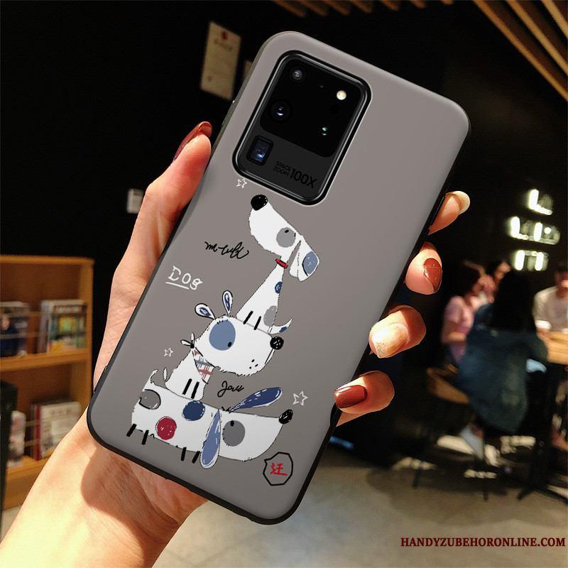 Samsung Galaxy S20 Ultra Funda Todo Incluido Anti-caída Protección Silicona Dibujos Animados Carcasa Hermoso