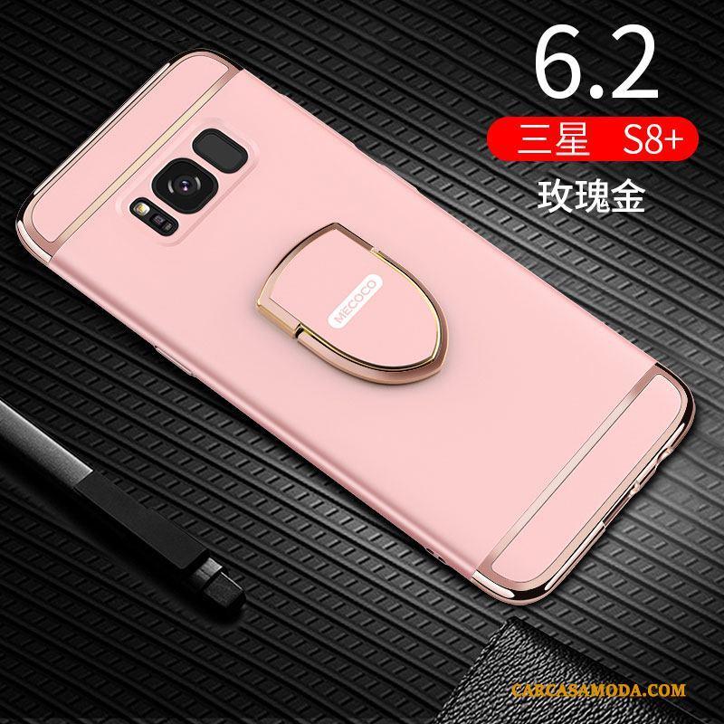 Samsung Galaxy S8+ Estrellas Slim Funda Silicona Nobuck Anti-caída Protección Carcasa