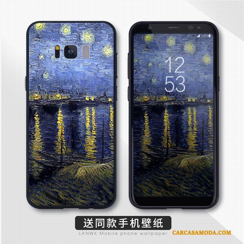Samsung Galaxy S8 Funda Personalizada Protección Tendencia Teléfono Móvil Todo Incluido Alto Estrellas