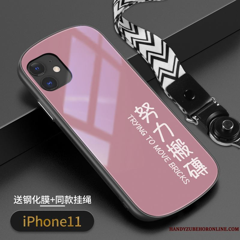 iPhone 11 Funda Silicona Net Red Todo Incluido Protección Vidrio Marca Tendencia Carcasa