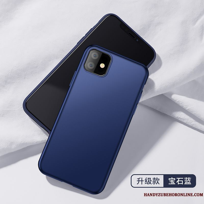 iPhone 11 Funda Todo Incluido Color Sólido Simple Slim Silicona Carcasa Anti-caída