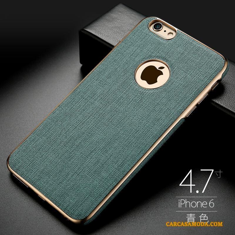 iPhone 6/6s Anti-caída Funda Silicona Elegante Suave A Bordo Magnetismo Carcasa