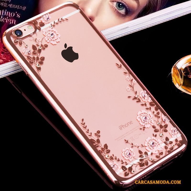 funda iphone 6 oro rosa