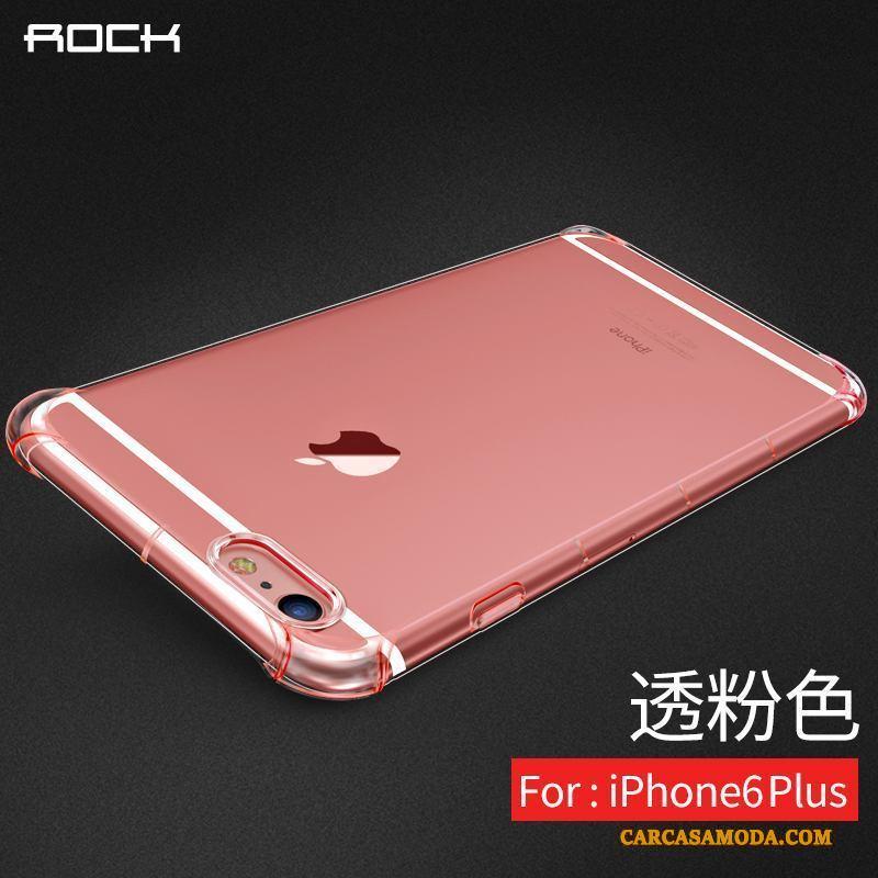 309e78381bc Iphone 6/6s Plus Funda Carcasa Slim Suave Nuevo Rosa Transparente Silicona  Online