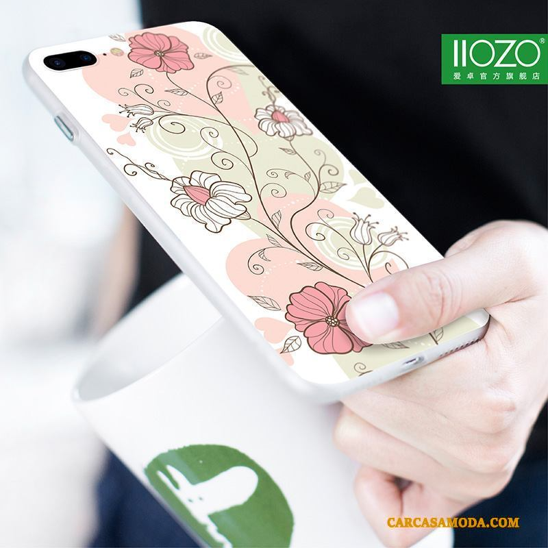 iPhone 6/6s Plus Teléfono Móvil Funda Silicona Creativo Color Carcasa Tendencia