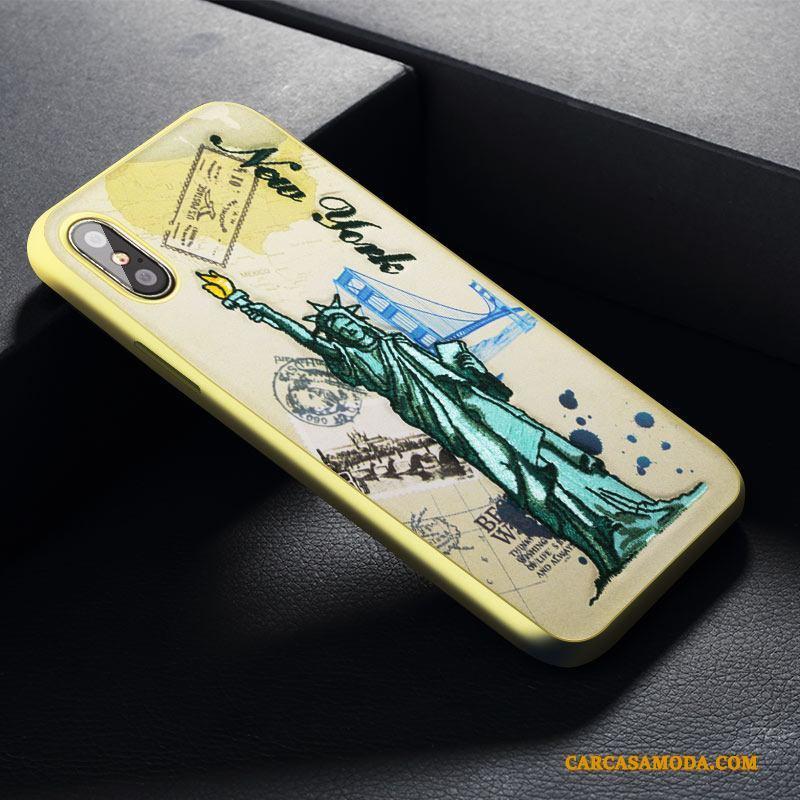Iphone X Funda Silicona Marca Tendencia Bordados Todo Incluido Nuevo  Amarillo Anti-caída Comprar 83760bb72c